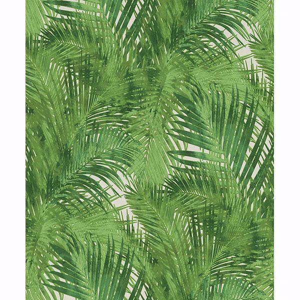 Picture of Cora Green Palms Wallpaper