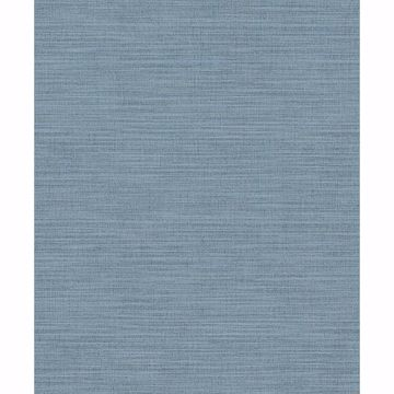 Picture of Colicchio Blue Linen Texture Wallpaper
