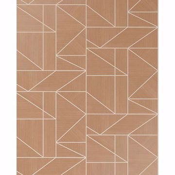Picture of Ina Rose Geometric Wallpaper