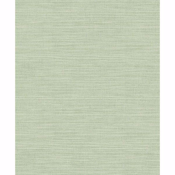 Picture of Colicchio Light Green Linen Texture Wallpaper