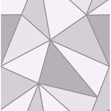 Picture of Apex Grey Geometric Wallpaper
