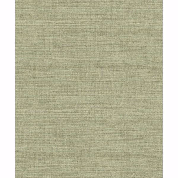 Picture of Zora Light Green Linen Texture Wallpaper