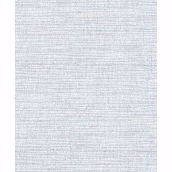 Picture of Zora Light Blue Linen Texture Wallpaper