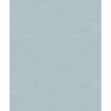 Picture of Zora Aqua Linen Texture Wallpaper
