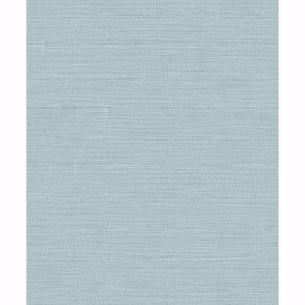Picture of Zora Aqua Linen Texture Wallpaper