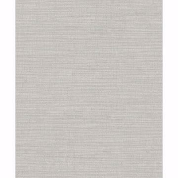 Picture of Zora Light Grey Linen Texture Wallpaper