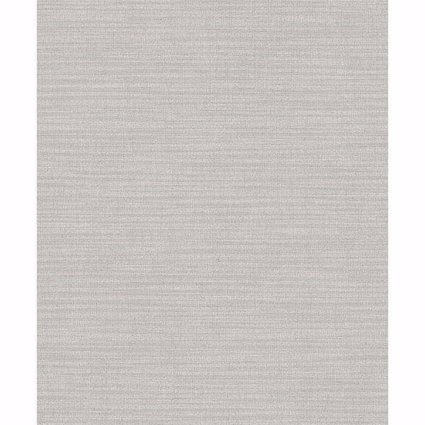 Picture of Zora Light Grey Linen Texture Wallpaper