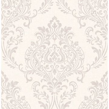 Picture of Falstaff Cream Damask Wallpaper