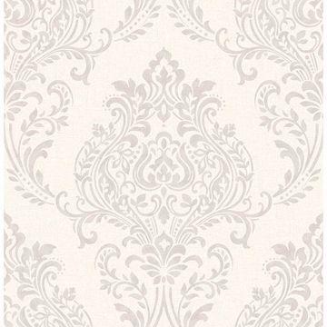 Picture of Falstaff Cream Damask Wallpaper