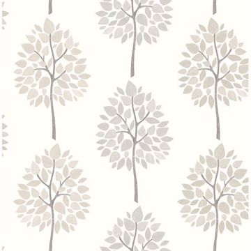 Picture of Ceres Grey Tree Wallpaper