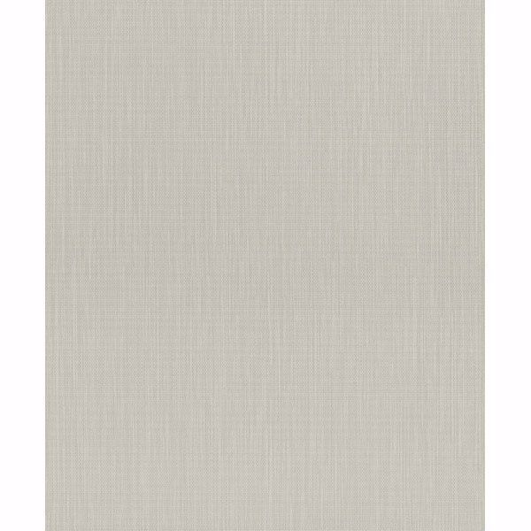 Picture of Orsino Light Grey Linen Wallpaper
