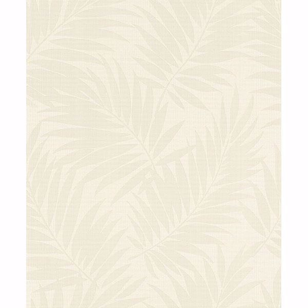 Picture of Regan Ivory Palm Fronds Wallpaper