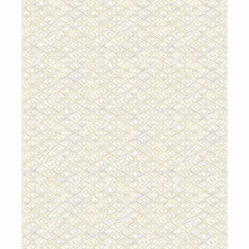 Picture of Delilah Light Yellow Diamond Wallpaper