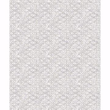 Picture of Delilah Light Grey Diamond Wallpaper