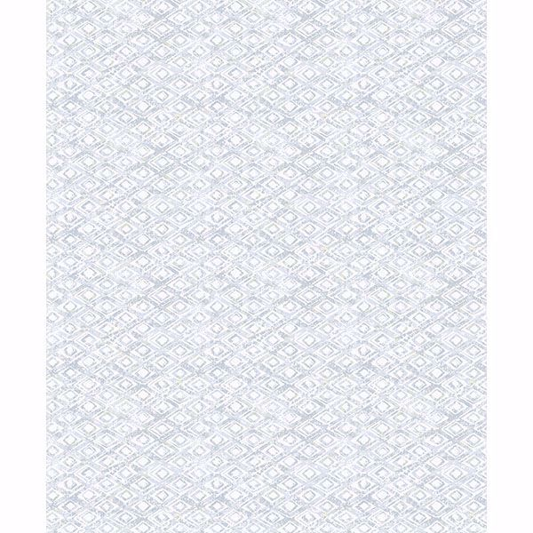 Picture of Delilah Light Blue Diamond Wallpaper