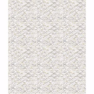 Picture of Delilah Taupe Diamond Wallpaper