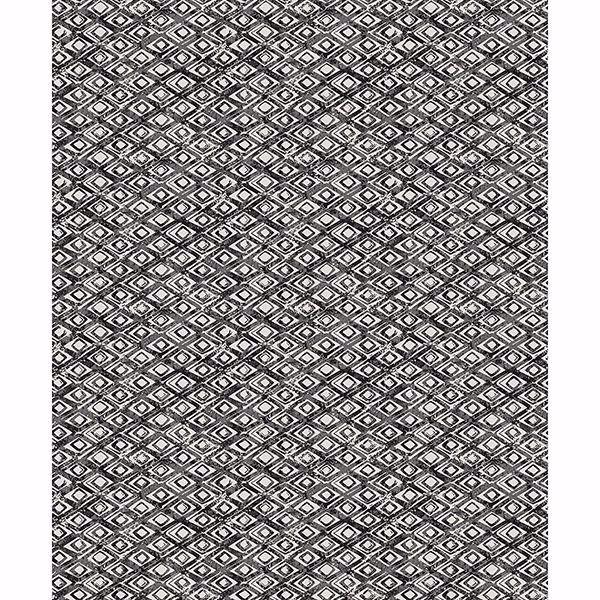 Picture of Delilah Slate Diamond Wallpaper