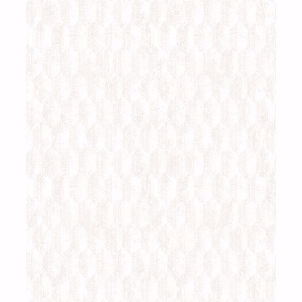 Picture of Kendall Ivory Geometric Wallpaper