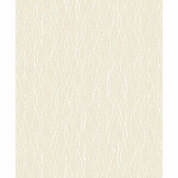 Picture of Quinn Light Yellow Twist Wallpaper
