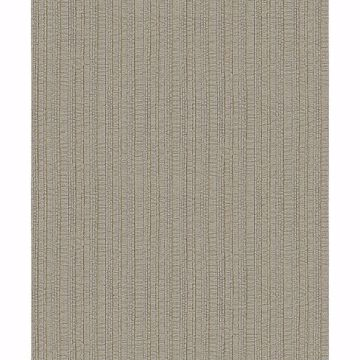 Picture of Kinsley Coffee Textured Stripe Wallpaper