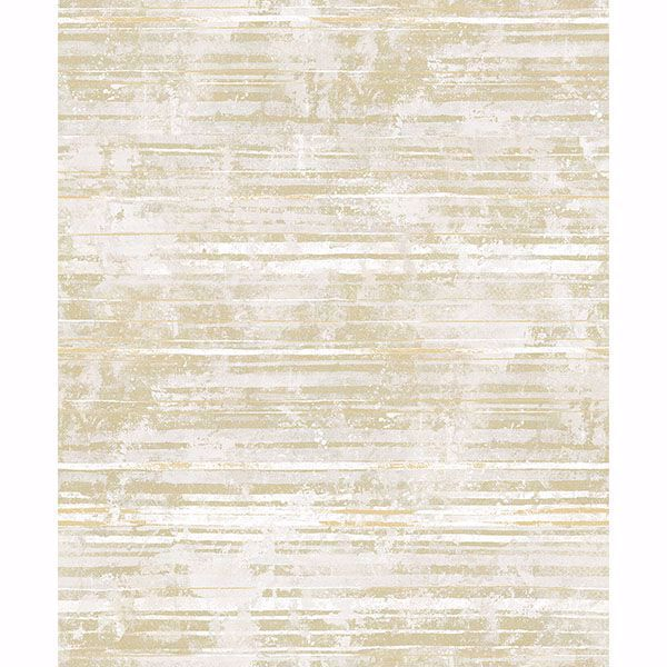 Picture of Makayla Light Yellow Stripe Wallpaper