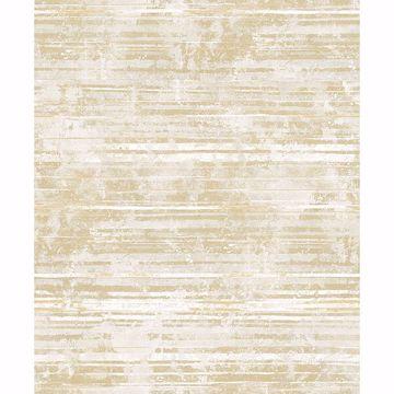 Picture of Makayla Apricot Stripe Wallpaper