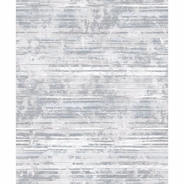 Picture of Makayla Grey Distressed Stripe Wallpaper