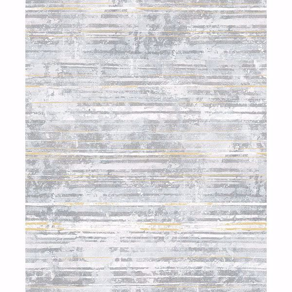 Picture of Makayla Light Grey Stripe Wallpaper