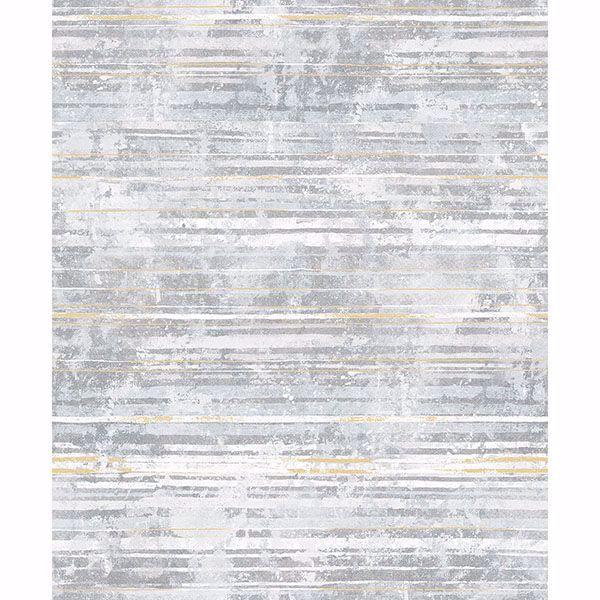 Picture of Makayla Light Grey Stripe Wallpaper