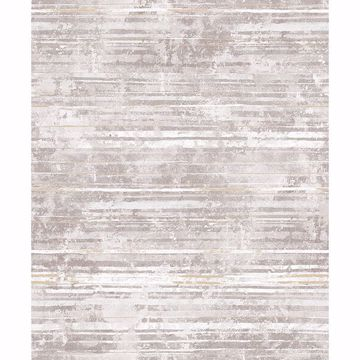 Picture of Makayla Mauve Distressed Stripe Wallpaper