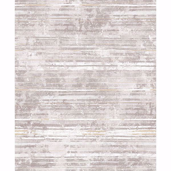 Picture of Makayla Mauve Distressed Stripe Wallpaper