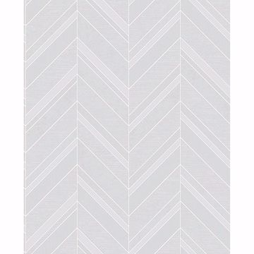 Picture of Punta Mita Grey Chevron Wallpaper