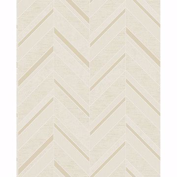 Picture of Punta Mita Cream Chevron Wallpaper