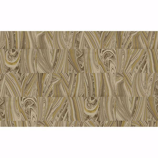 Picture of Boulders Brown Glitter Marble Wallpaper
