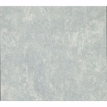 Picture of Mansour Teal Plaster Texture Wallpaper