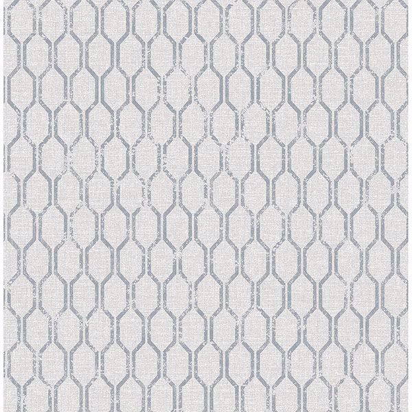 Picture of Elodie Light Grey Geometric Wallpaper