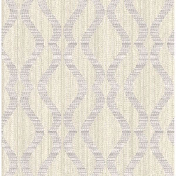 Picture of Yves Multicolor Ogee Wallpaper