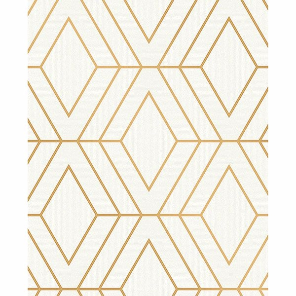Picture of Adaline Off-white Geometric Wallpaper