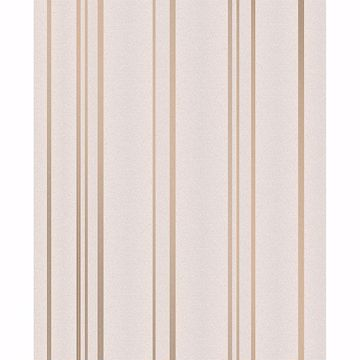 Picture of Thierry Rose Gold Stripe Wallpaper