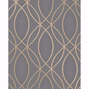 Picture of Lisandro Taupe Geometric Lattice Wallpaper