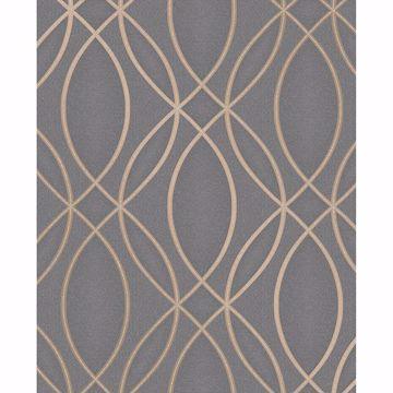 Picture of Lisandro Taupe Geometric Lattice Wallpaper