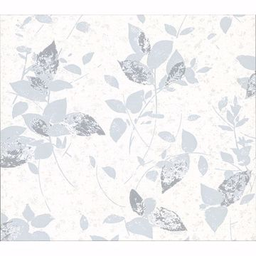 Picture of Oceane Grey Toss Wallpaper