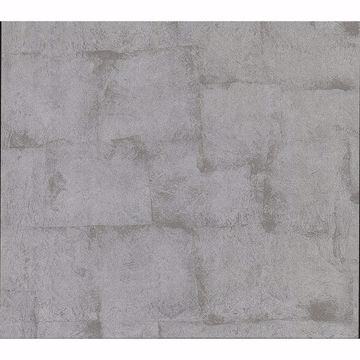 Picture of Saville Grey Texture Wallpaper