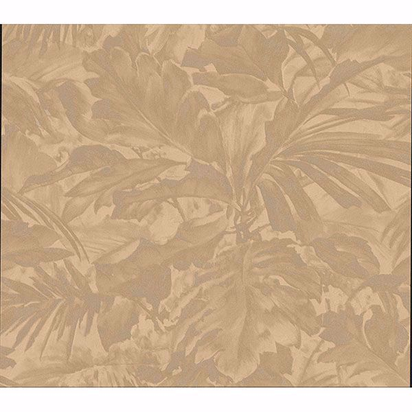 Picture of Boyce Bronze Botanical Wallpaper
