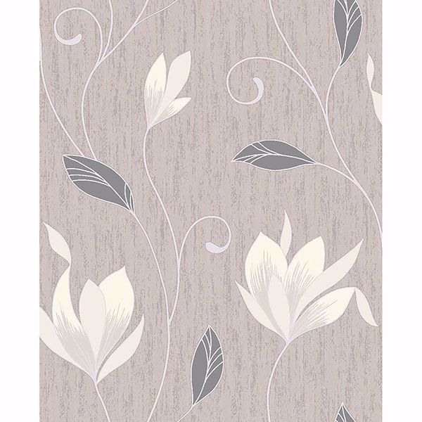 Picture of Anais Neutral Floral Trails Wallpaper