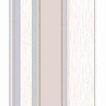 Picture of Mirabelle Neutral Stripe Wallpaper