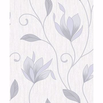 Picture of Anais Grey Floral Trails Wallpaper