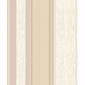 Picture of Mirabelle Cream Stripe Wallpaper