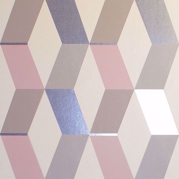Picture of Rochelle Multicolor Geometric Wallpaper