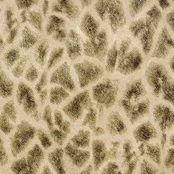 Picture of Montone Brown Giraffe Wallpaper
